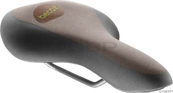 Selle Royal Women'S Becoz Athletic Recyclable Saddle Cover With Cork, Brown/Black front-585248
