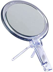 Zadro Acrylic Hand Mirror with 1X - 7X Magnification, Acrylic Finish