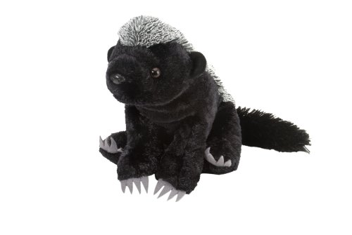 "Wild Republic Cuddlekin Honey Badger 12"" Plush"