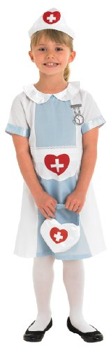 Kids Nurse M - Hospital Fancy Dress Party Costume Outfit Girls Children Dress Up