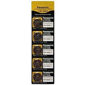 【クリックで詳細表示】パナソニック(Panasonic) コイン型リチウム電池 CR2032 5P