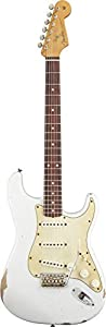 Fender Road Worn 60's Stratocaster, Rosewood Fingerboard - Olympic White
