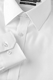 Performance Pure Cotton Non-Iron Twill Shirt with Stainaway™