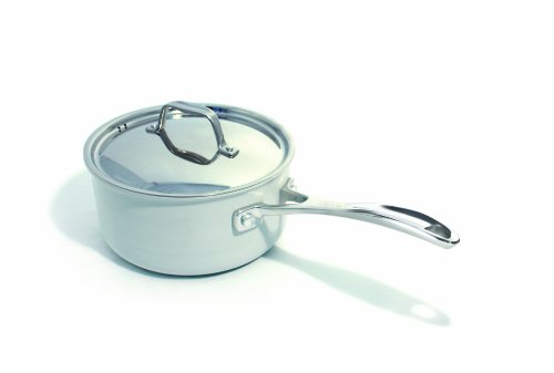 Beka Cookware Chef Eco-logic Covered Bekadur Ceramica Non-Stick, 6-Inch, Cream