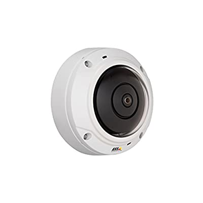 Axis 0556-001 M3027-Pve 5 Megapixel Network Camera M12-Mount (White)