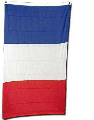 France Flag Polyester 3 ft. x 5 ft.