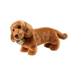 Yomiko Dachshund Realistic Stuffed Animal Plush Dog
