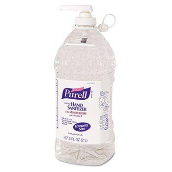 Gojo Purell Instant Hand Sanitizer, 2-Liter Bottle front-953758