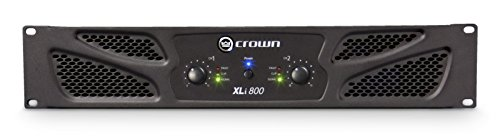 Crown XLI800 Two-channel, 300W at 4Ω Power Amplifier (Crown Power compare prices)