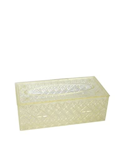 Uptown Down Vintage Celebrityware Tissue Box Cover, Clear