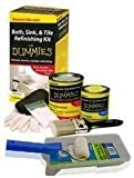 Bath, Sink & Tile Epoxy Refinishing Kit For Dummies, White