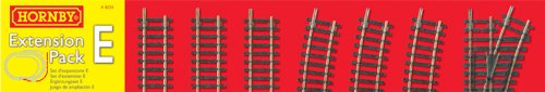 Hornby R8225 00 Gauge Track Extension Pack E