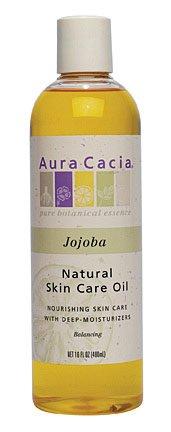 Aura Cacia Jojoba Skin Care Oil 16 oz. bottle (Pack of 8)