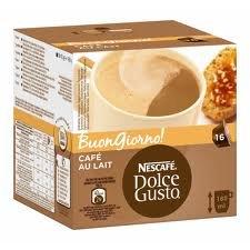 Nescafe Dolce Gusto Cafe' Au Lait 16 Pods