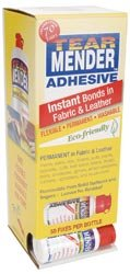 Tear Mender Instant Adhesive 2 Ounce TG-2-1 24 Unit Dispenser
