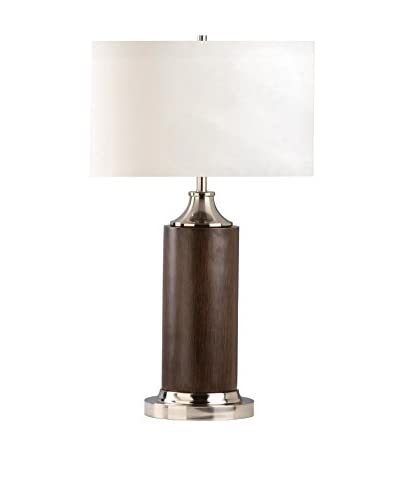 Nova Lighting Cracker Barrel Table Lamp, Brown