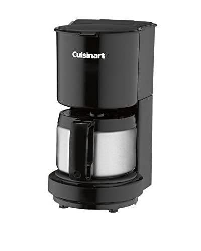 Cuisinart 4-Cup Coffeemaker with Stainless Steel Carafe, Black