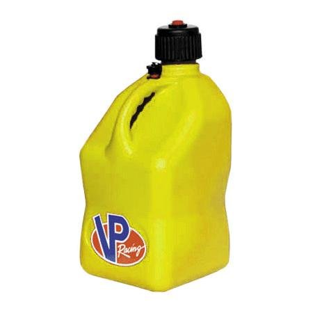 VP Racing Fuels Square Jerry Can - Yellow 3554 ak9202 vp