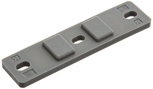 昭和コーポレーション SC樹脂浮上りサドルバンド用台座【20個入り】 JSBND2VPGNグレー