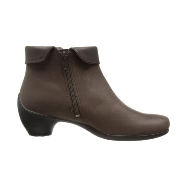 Women's Sculptured Folded Zip Boot