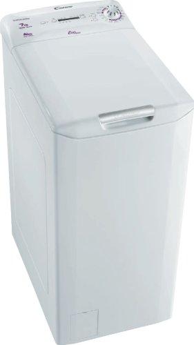 Candy EVOT12061DS machine à laver - machines à laver (Autonome, Charge supérieure, A+, B, Argent, Haut)