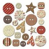 Fancy Pants Home for Christmas Buttons