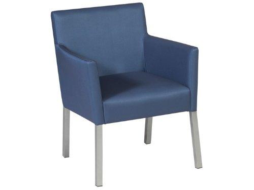 BELLO Dining Garten Sessel Silvertex Saphire Blau