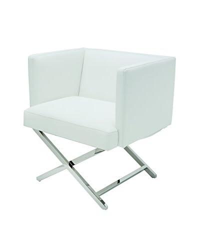 Nuevo Living Trinity Dining Chair, White