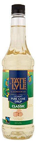 Tate+Lyle Fairtrade Pure Cane Sugar Classic Simple Syrup, 750mL (25.4 oz) Bottle