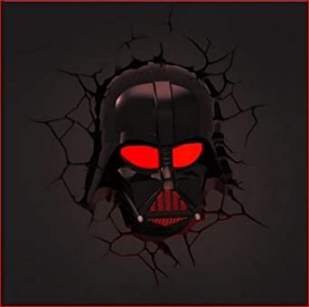 3d Deco Superhero Wall Lights Review : Darth Vader 3d Deco Superhero Wall Night Light - - Amazon.com