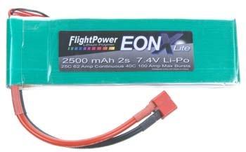 EONXLITE-25002S EONX Lite LiPo 2S 7.4V 2500mAh 25C