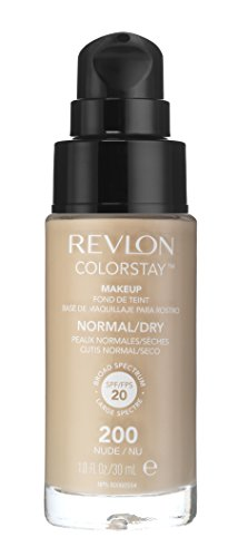 Revlon ColorStay Foundation for Normal/Dry Skin, Nude by Revlon