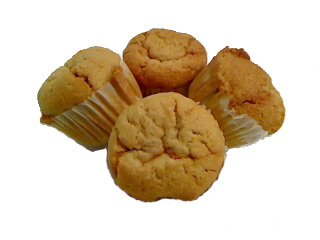 Thinslim Foods Sugar Free Peanutbutter Muffins 8- 4 Packs (32 Muffins Total)