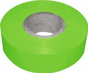 plastic-flagging-tape-various-colors-fluor-lime-green-flaggng-tape-50-yds