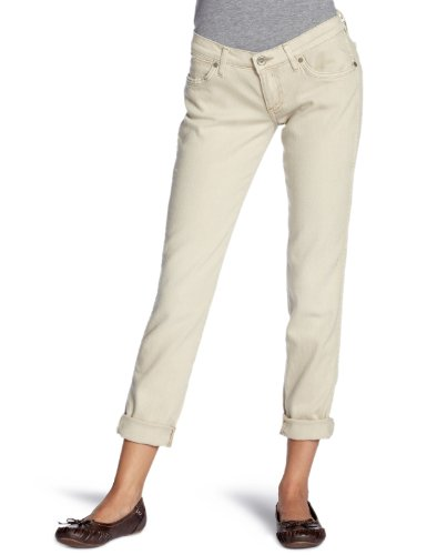 Wrangler - Jeans slim, donna, Beige (Beige (Coloured - Sable)), 38/40 IT (25W/32L)