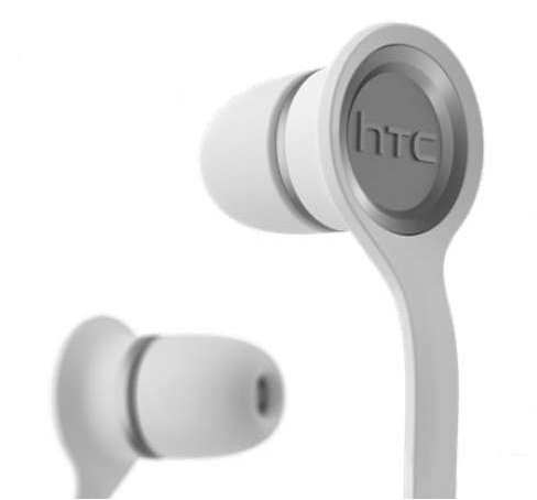 HTC Smart Wired Headset with Flat Tangle Free Cable RC-E190 for HTC One M8 (White) – Bulk Packaging