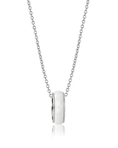 CERAM BY ART DE France Collana Simple Ring Bianco
