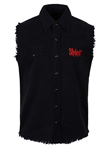 SLIPKNOT        9 POINTED STAR  Chemise De Travail Manches   L