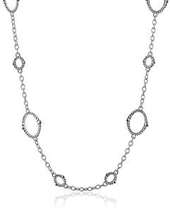 "Judith Ripka ""Laguna"" Open Link Chain Necklace, 24"""