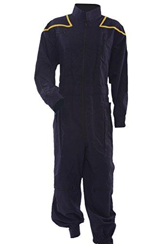 Allten Men's Costume Star Trek Enterprise Uniform Jumpsuit S (Star Trek Enterprise Uniform)