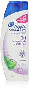 Head & Shoulders Purely Gentle Scalp Care 2-In-1 Dandruff Shampoo And Conditioner 14.2 Fl Oz (packaging may vary)