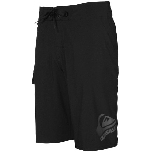 Quiksilver Code 2 Black 4-Way Stretch Boardshort