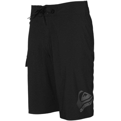 Quiksilver Code 2 Black 4-Way Stretch Boardshort