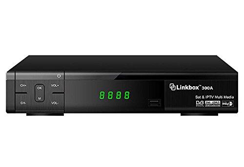 Linkbox 300A HD PVR DVB-S2 FTA SATELLITE RECEIVER & IPTV MULTI MEDIA