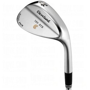 Cleveland 588 Rtx Satin Chrome Wedges Dynamic Gold Steel 10.0