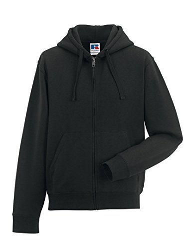 russell-europe-authentic-zipped-hood-black-xl