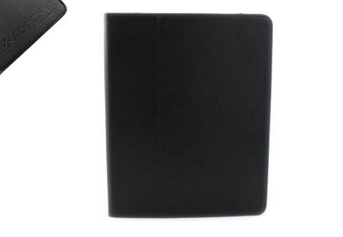 SANOXY IPAD 2 Leather Case With Stand for Apple IPAD 2 (Black) Fits All Ipad2 Model