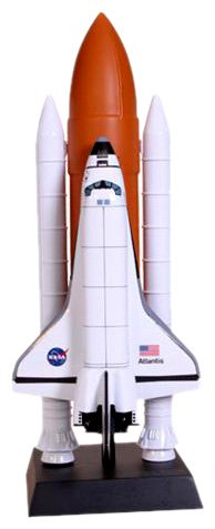 Buy Space Shuttle F/S Atlantis Resin Model Spacecraft
