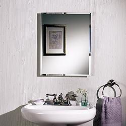 Jensen B72338501 Framed Horizon Surface Mounted Single-Door Medicine Cabinet