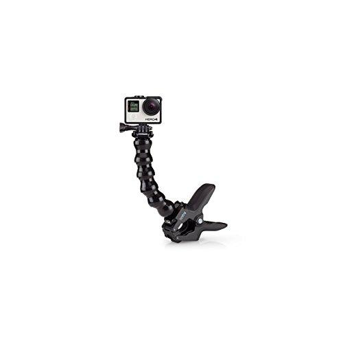 GoPro Jaws - Fixation flexible avec Bras de serrage pour caméra embarquée GoPro Noir